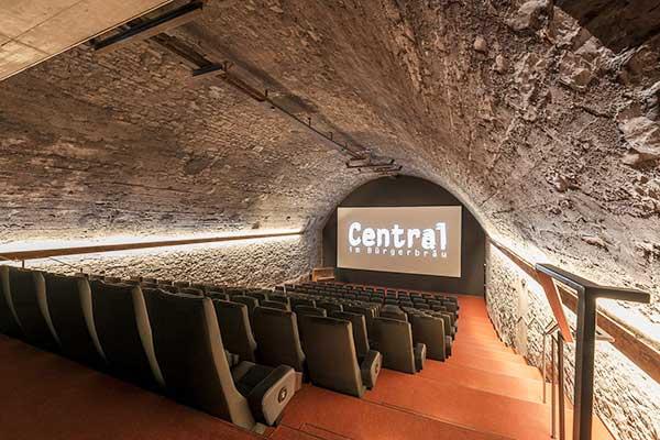 Website des Kino Central im Bürgerbräu